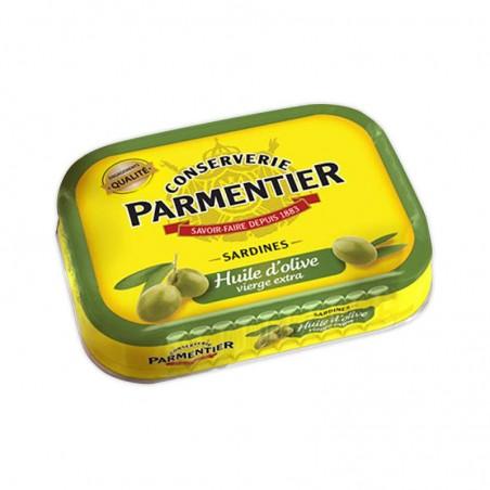 Sardines à l'huile d'olive 135g PARMENTIER
